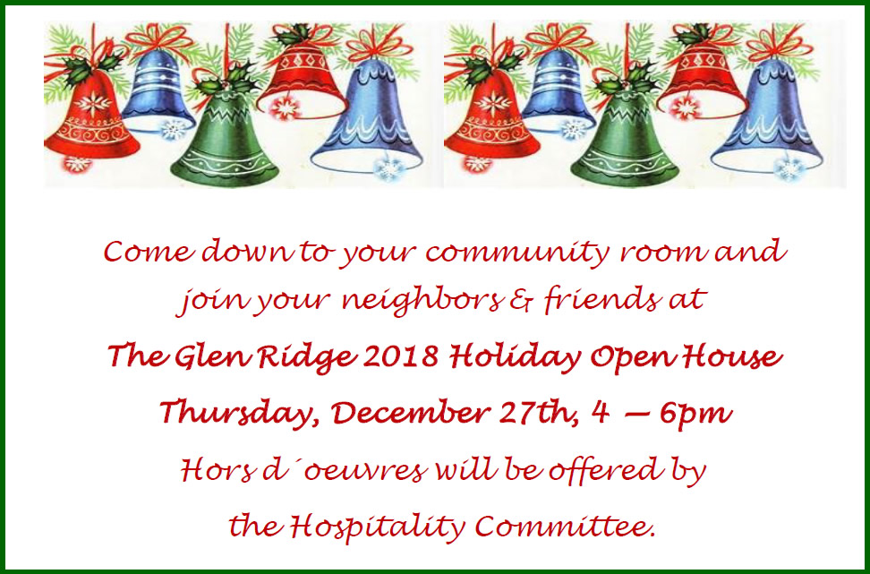 2018 Holiday Open House